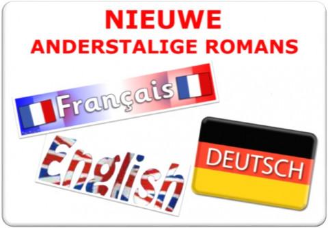 Nieuwe anderstalige romans in Frans, Engels en Duits