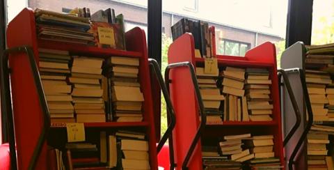 Corona boeken in quarantaine